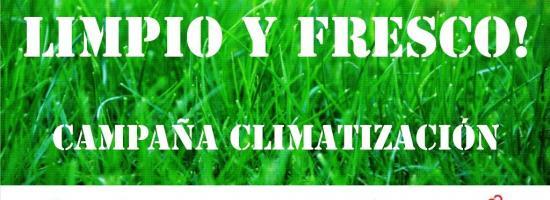Campaña climatizacion