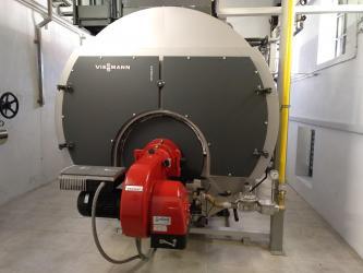 Instalación caldera vapor